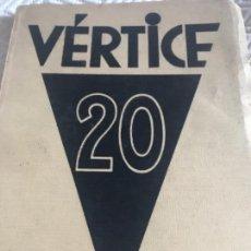 Libros antiguos: VÉRTICE 1939. Lote 164778998