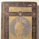 Libros antiguos: VERDAGUER, JASCINTO - LA ATLANTIDA - BARCELONA 1878 - 1ª EDICIÓ EN VOLUM. Lote 165324864