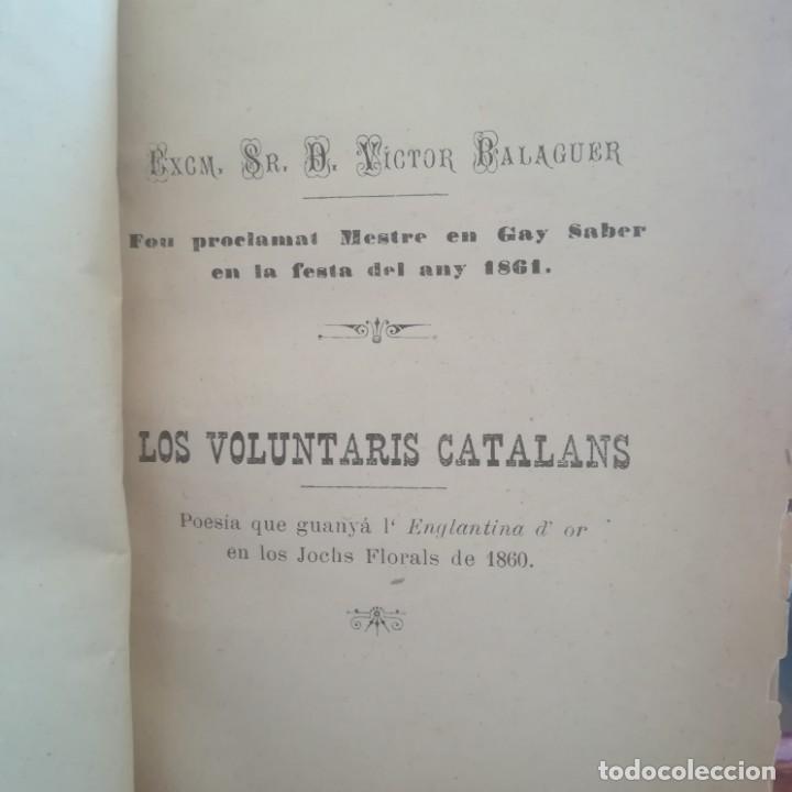 Libros antiguos: LA MUSA CATALANA-APLECH DE POESIAS DELS SENYORS MESTRES EN GAY SABER-M. TORNER-1889-UNA JOYA - Foto 10 - 166721702