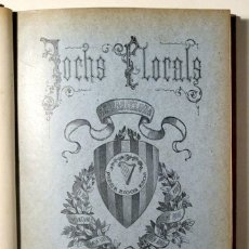 Libros antiguos: (JOAN MARAGALL, JOSEP CARNER, FOLCH I TORRES, ETC. - JOCHS FLORALS DE BARCELONA EN 1904 - BARCELONA. Lote 166974990