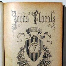 Libros antiguos: (JOAN ALCOVER, JOSEP CARNER, ALOMAR, ETC.) - JOCHS FLORALS DE BARCELONA EN 1905 - BARCELONA 1905. Lote 166974994
