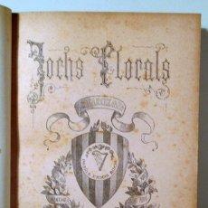 Libros antiguos: (JOAN ALCOVER, JOSEP CARNER, ETC.) - JOCHS FLORALS DE BARCELONA EN 1907 - BARCELONA 1907. Lote 166975002