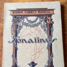 Libros antiguos: SONATINES. Lote 167833097