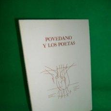 Livros antigos: POVEDANO Y LOS POETAS, ED. ANTONIO RODRÍGUEZ, CAJA PROVINCIAL DE CÓRDOBA. Lote 167959516