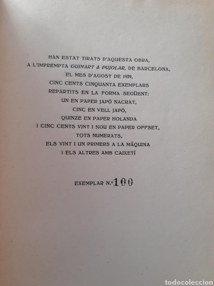 Libros antiguos: AFINITATS. SALVADOR ALBERT. POEMES. 1929. - Foto 3 - 168321662
