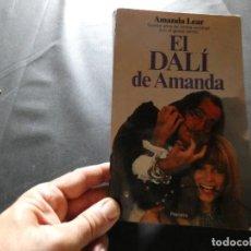 Libros antiguos: AMANDA LEAR- EL DALI DE AMANDA SALVADOR DALI LIBRO PESA 373 GR. Lote 169191104