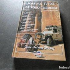 Libros antiguos: LIBRO DEL AÑO 1992 MANUAL TUTOR DEL TODO-TERRENO PESA 550 GR. Lote 169191312
