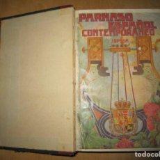 Libros antiguos: PARNASO ESPAÑOL CONTEMPORÁNEO. JOSE BRISSA. 1914. Lote 171045572