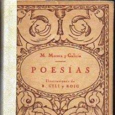 Libros antiguos: POESIAS. VOLUMEN SEPTIMO - MORERA Y GALICIA, M. - A-POE-1833. Lote 171359037
