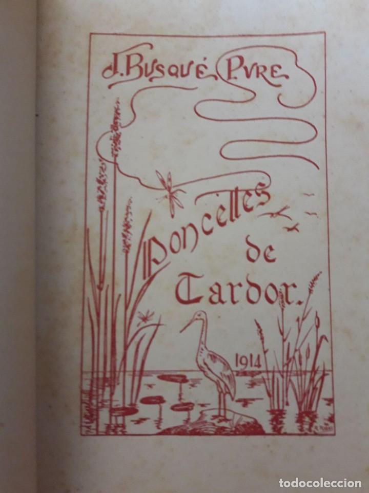 Libros antiguos: PONCELLES DE TARDOR. APLEC DE PROVATURES POÉTIQUES / MOSSEN JOAN B. DUSQUÉ / EDI. JOSEP VILA IMPRESO - Foto 2 - 171385213