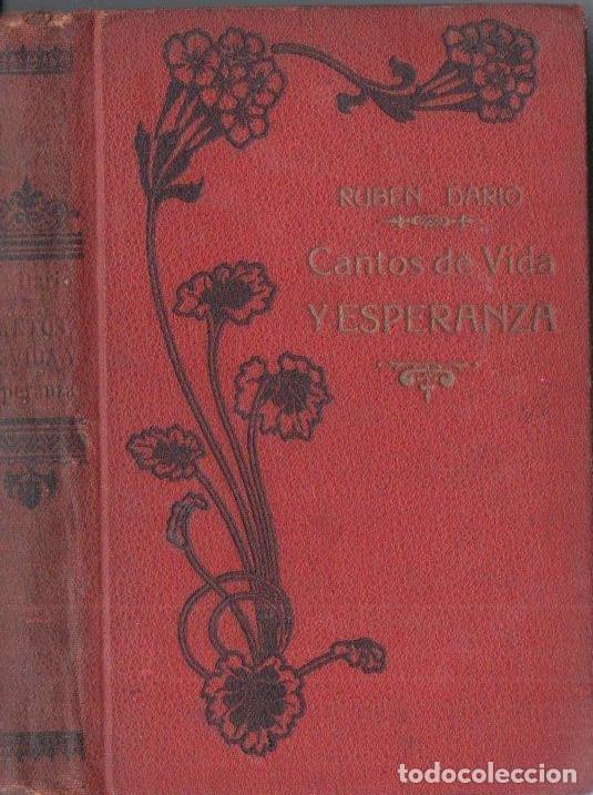 RUBEN DARÍO : CANTOS DE VIDA Y ESPERANZA - LOS CISNES Y OTROS POEMAS (MAUCCI, C. 1920) (Libros antiguos (hasta 1936), raros y curiosos - Literatura - Poesía)