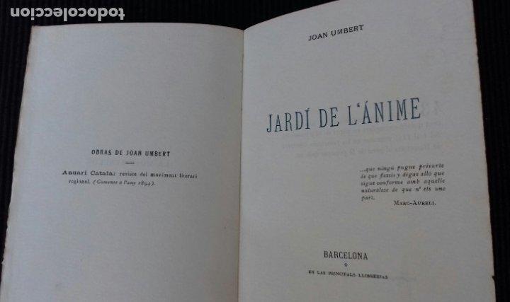Libros antiguos: LA MUSE REBELDE. JOAN UMBERT. JARDI DE LANIME. EDICION NUMERADA. 43 DE 115. - Foto 3 - 173636482