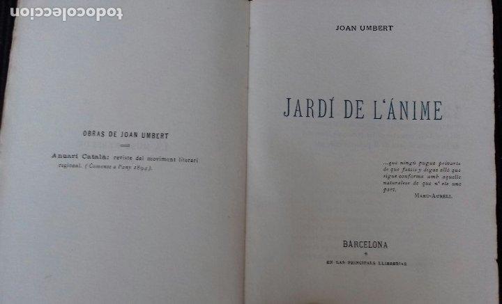 Libros antiguos: LA MUSE REBELDE. JOAN UMBERT. JARDI DE LANIME. EDICION NUMERADA. 43 DE 115. - Foto 4 - 173636482
