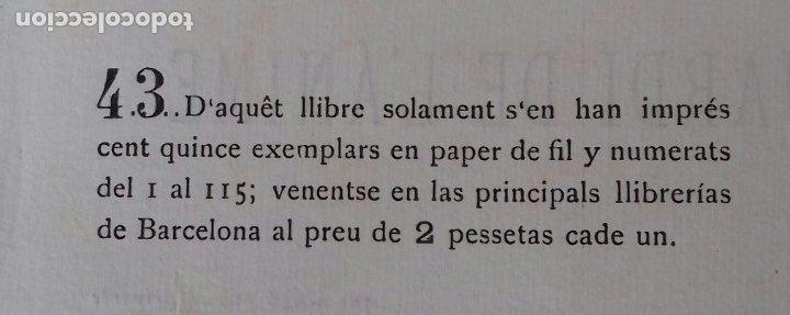 Libros antiguos: LA MUSE REBELDE. JOAN UMBERT. JARDI DE LANIME. EDICION NUMERADA. 43 DE 115. - Foto 5 - 173636482