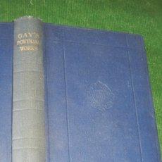 Libros antiguos: THE POETICAL WORKS OF JOHN GAY, OXFORD UNIV.PRESS 1926. Lote 174039615