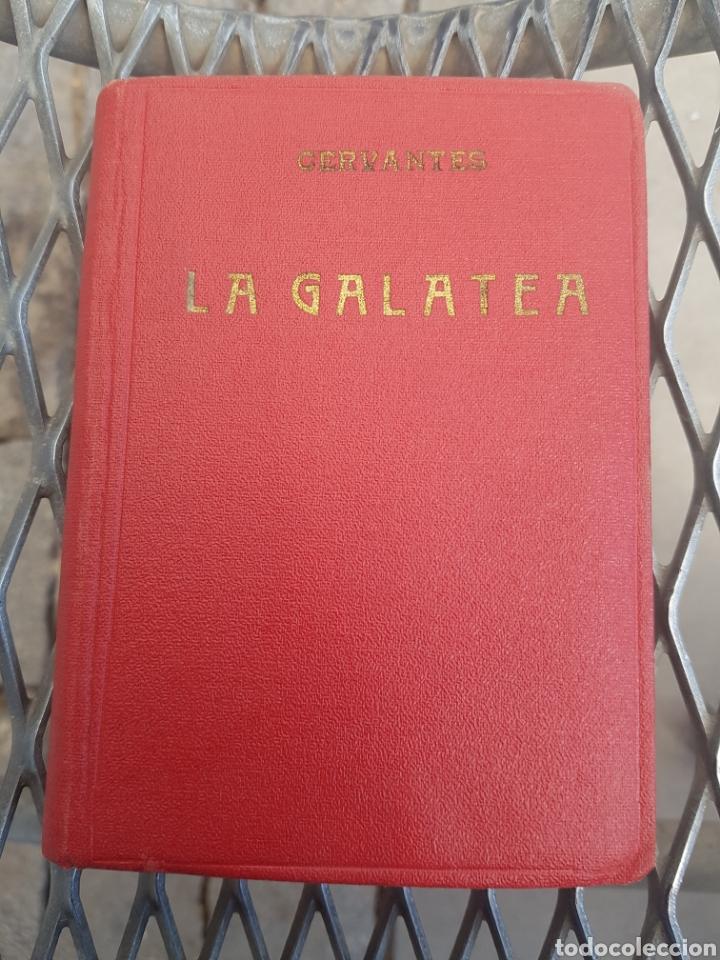 1A. EDICIÓN CERVANTES LA GALATEA 1934 TAPA ROJA VIAJE AL PARNASO Y POESÍAS SUERTAS. LIBRERÍA BERGUA (Libros antiguos (hasta 1936), raros y curiosos - Literatura - Poesía)