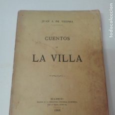 Libros antiguos: CUENTOS DE LA VILLA VIEDMA 1868. Lote 175141189
