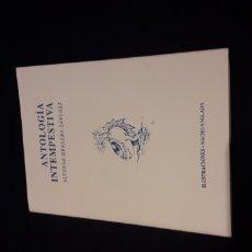 Libros antiguos: ANTOLOGIA INTEMPESTIVA. Lote 175262267