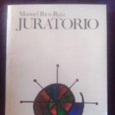 Libros antiguos: JURATORIO - MANUEL RIOS. Lote 175281889