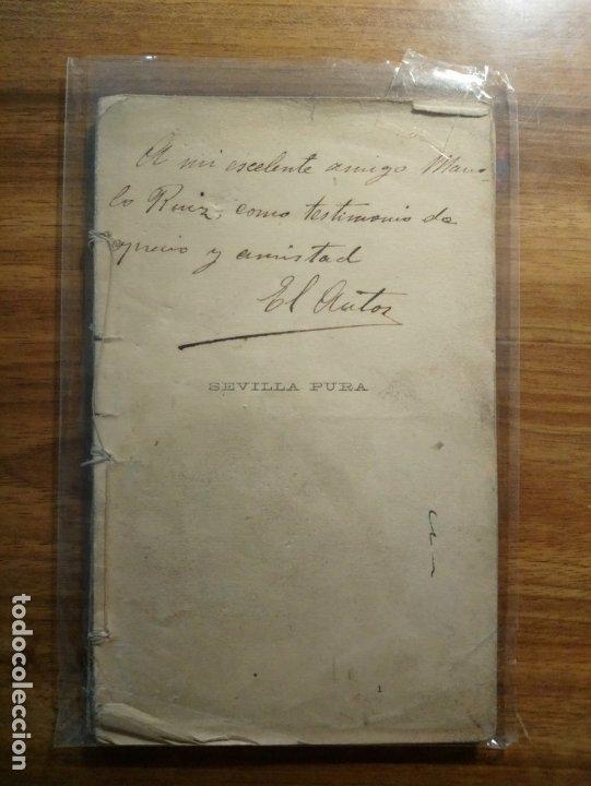 Libros antiguos: Sevilla Pura - Cornella, Luis - Foto 3 - 175396597