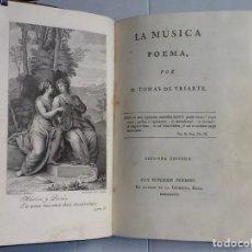 Libros antiguos: LA MUSICA POEMA - TOMAS DE YRIARTE SEGUNDA EDICION 1784. Lote 175948418