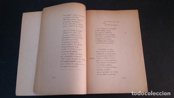 Libros antiguos: 1940 - Alberto Eugenio ALVAREZ RUZ - Canciones libres del piloto en paz y en guerra - Foto 3 - 175978507