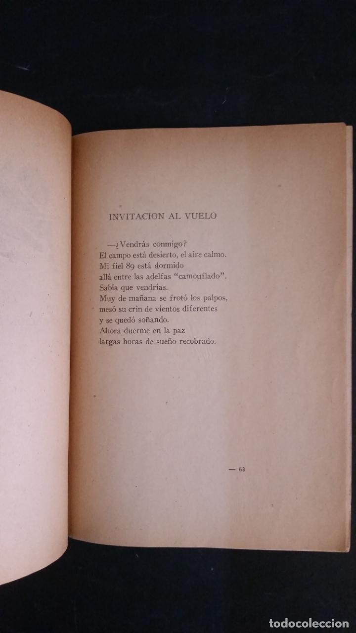 Libros antiguos: 1940 - Alberto Eugenio ALVAREZ RUZ - Canciones libres del piloto en paz y en guerra - Foto 6 - 175978507