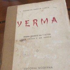 Libros antiguos: YERMA SANTIAGO DE CHILE. Lote 176121280