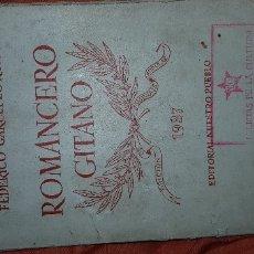 Libros antiguos: ROMANCERO GITANO. Lote 176142087