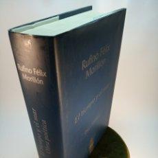 Livres anciens: EL TIEMPO Y EL MAR. RUFINO FÉLIX MORILLÓN. OBRA POÉTICA. MÉRIDA. 2003. 685 PP. . Lote 176287390