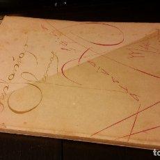 Libros antiguos: 1937 - HORACIO ZÚÑIGA - SINFONÍAS - 1ª ED.. Lote 176377412