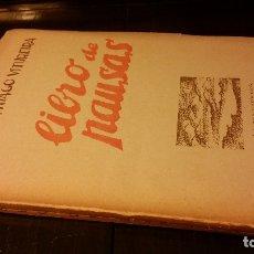 Libros antiguos: 1934 - CIPRIANO SANTIAGO VITUREIRA - LIBRO DE PAUSAS - 1ª ED., DEDICADO, URUGUAY. Lote 176441924