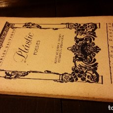 Livros antigos: 1923 - CARLES SALVADOR - PLASTIC. POESIES - 1ª ED.. Lote 176442035