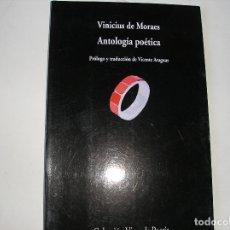 Libros antiguos: ANTOLOGÍA POÉTICA.- VINICIUS DE MORAES.- VISOR, 2002. Lote 176548408