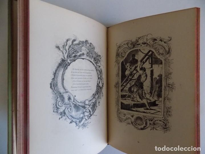 Libros antiguos: LIBRERIA GHOTICA.RARO LIBRO SIMBOLISTA DE SIGLO XIX.TRES POESIAS.EL ANGEL DE LA MUERTE.1883.GRABADOS - Foto 9 - 177750959