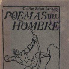Libros antiguos: POEMAS DEL HOMBRE. CARLOS SABAT ERCASTY.. Lote 49795065