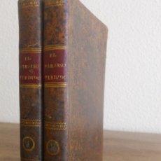Libros antiguos: J. MILTON: EL PARAÍSO PERDIDO. IMRENTA DE IBARRA, 1814. 2 VOL.. Lote 178281881