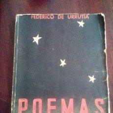 Libros antiguos: POEMAS DE LA FALANGE ETERNA. FEDERICO DE URRUTIA. 1938. Lote 178381561