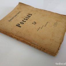Libros antiguos: LIBRO POESIAS BERNARDO LOPEZ GARCÍA JAÉN 1908. Lote 178683766
