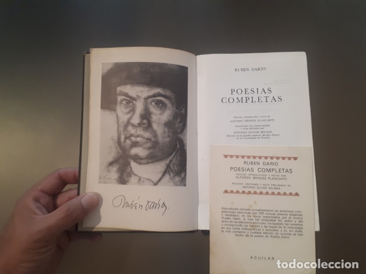 Libros antiguos: Rubén Dario - Poesías completas (obras editorial Aguilar) - Foto 2 - 179018008