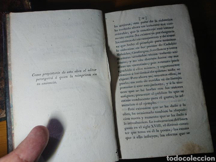 Libros antiguos: Poesias Selectas de Quintana, 1830, Tomos I, II y IV - Foto 6 - 179196212