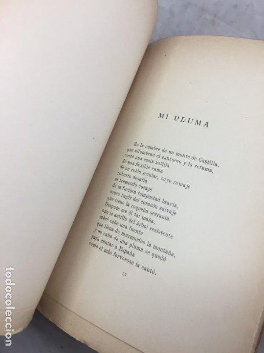Libros antiguos: Por tierras de mi raza. Francisco de Iracheta. Poesías. Madrid, 1912. Dedicatoria y firma autografa - Foto 6 - 179211867