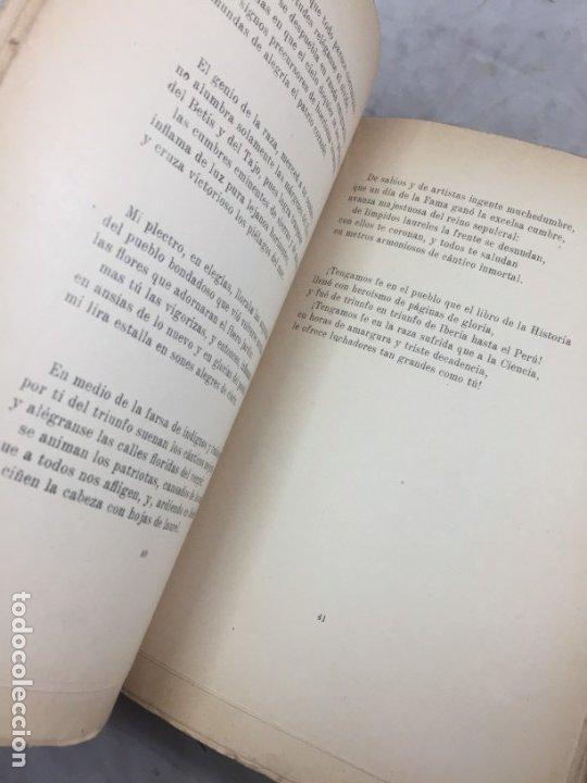 Libros antiguos: Por tierras de mi raza. Francisco de Iracheta. Poesías. Madrid, 1912. Dedicatoria y firma autografa - Foto 7 - 179211867