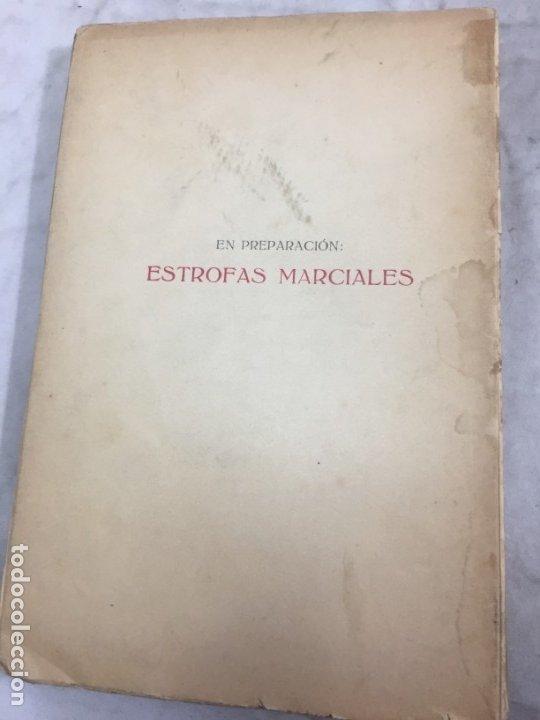 Libros antiguos: Por tierras de mi raza. Francisco de Iracheta. Poesías. Madrid, 1912. Dedicatoria y firma autografa - Foto 8 - 179211867