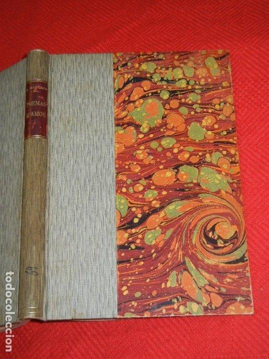 POEMAS D'AMOR, DE APEL·LES MESTRES - EST.TIP,SALVAT Y CIA 1904 (Libros antiguos (hasta 1936), raros y curiosos - Literatura - Poesía)