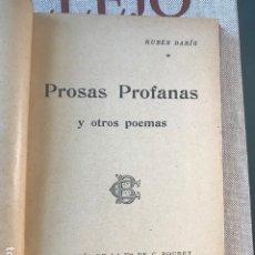 Libros antiguos: PROSAS PROFANAS 1901. Lote 180486295