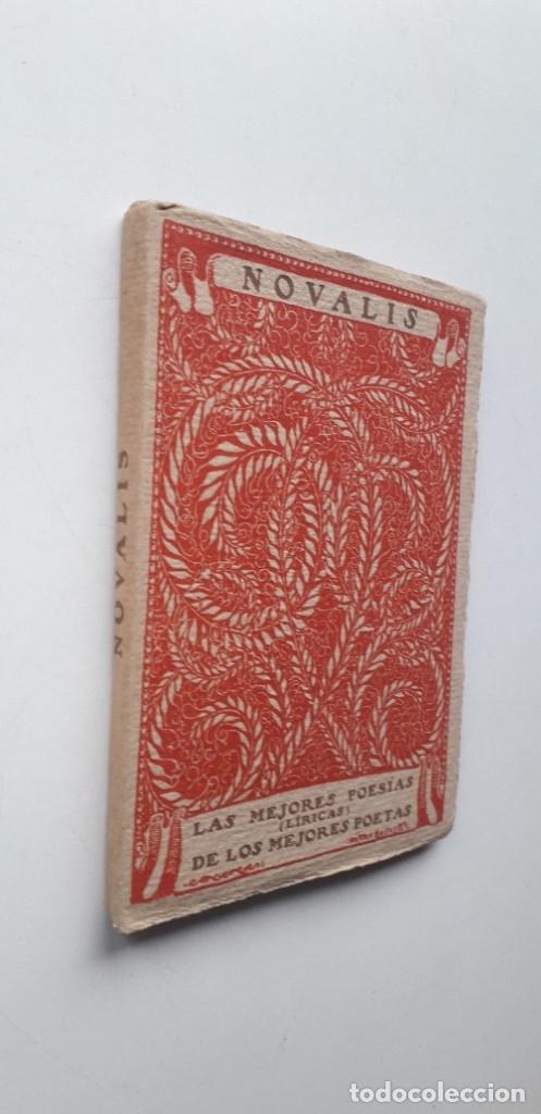 Libros antiguos: Las mejores poesias de los mejores poetas - Novalis (Editorial Cervantes) - Foto 2 - 181023132