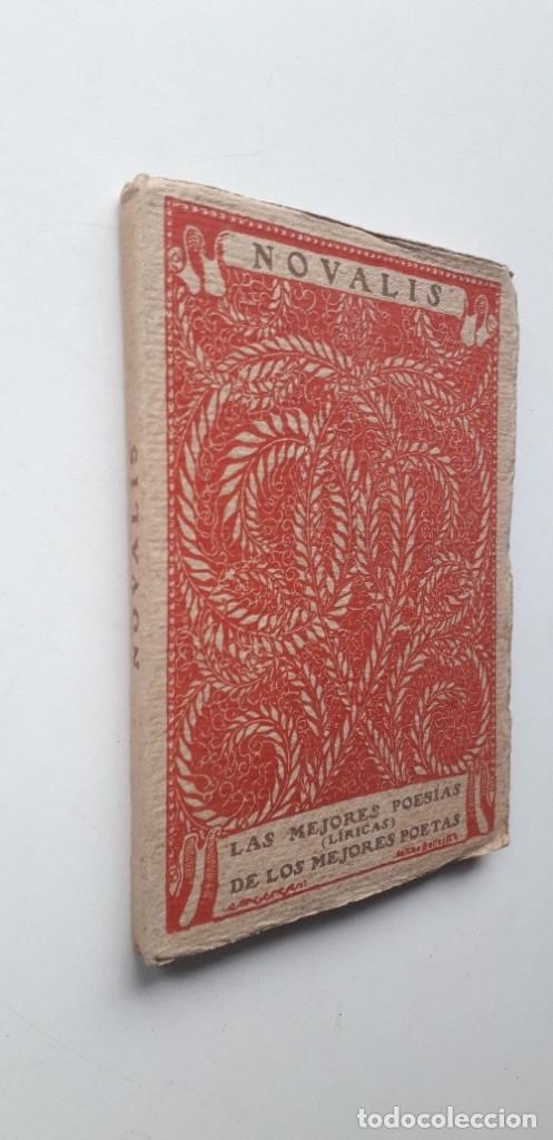 Libros antiguos: Las mejores poesias de los mejores poetas - Novalis (Editorial Cervantes) - Foto 2 - 181025025