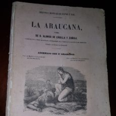 Livros antigos: LA ARAUCANA - 1852. Lote 181218313