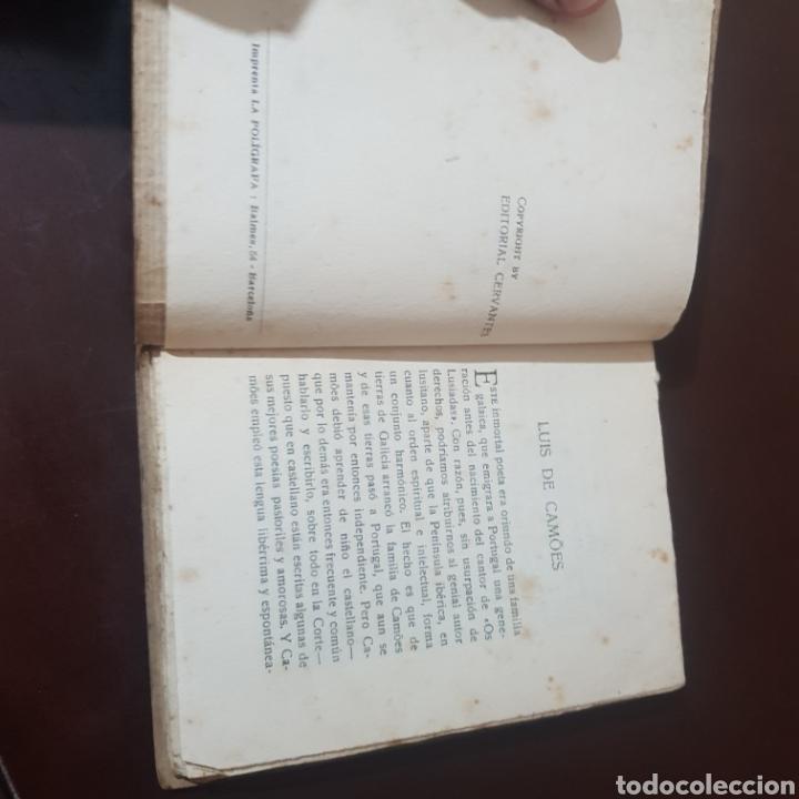 Libros antiguos: LUIS DE CAMOES ED. CERVANTES LAS MEJORES POESIAS LIRICAS DE LOS MEJORES POETAS - Foto 3 - 181491531
